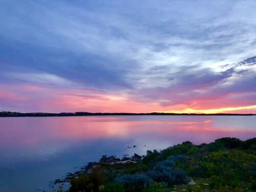 robs point sunset